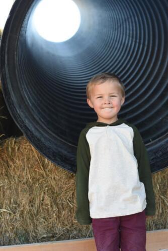 Giant Pipe Slide at Glen Ray's Corn Maze