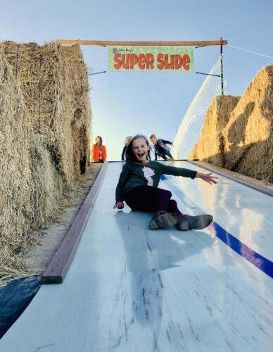 Fun on the SUPER SLIDE!
