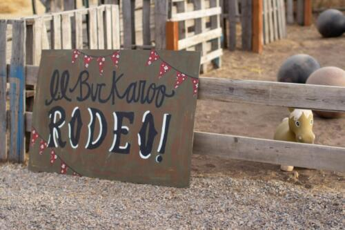 Lil' Buckaroo Rodeo at the Kiddie Corral