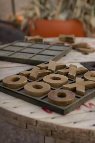 Tik Tac Toe - Three in a row - Wooden Tic Tac Toe Games